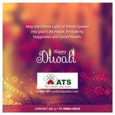 ATS CASA ESPANA Wishes you and your family a very happy and a very Prosperous Diwali.