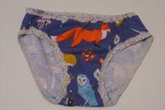 Foxy Panties S M L by SparrowAndAsh on Etsy
