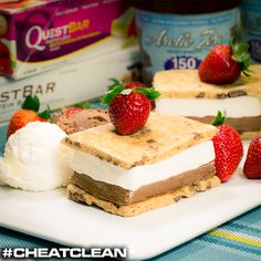 Quest Nutrition Low Carb Gluten Free Protein Bars: QuestBars and Arctic Zero Ice Cream #CheatClean
