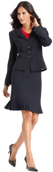 Tahari Two-Piece Skirt Suit ♥✤ | Keep the Glamour | BeStayBeautiful