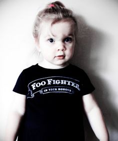 Mini Foo Fighter - Zach's favorite band.  A Must.