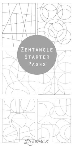 Resource 8 - This is a great way to start zentangle sketchbook activities. There are several Zentangle starter pages and zentangle patterns to use for students. Not only does it talk art zentangles, it inspires young art in many ways. Doodles Zentangles, Tangle Doodle, Zentangle Drawings, Doodle Drawings, How To Zentangle, Zentangle Art Ideas, Easy Zentangle Patterns, Zentangle For Beginners, Doodle Art For Beginners