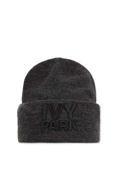 65d9f95db73 Topshop Thermal Logo Beanie by Ivy Park