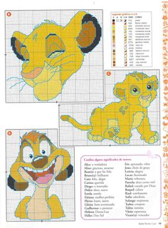 Simba and Timon from Lion King