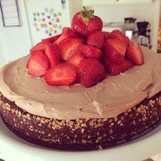 Fransk chokladtårta