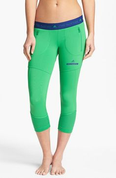 adidas by Stella McCartney 'Run' Three Quarter Length Pants available at #Nordstrom