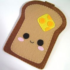 Kawaii Toast iPhone / iTouch / iPod / Card Case por ohmycake
