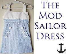 Sailor Dress free pattern easy to make