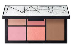 NARS Holiday Collection Is Here & It Is GLORIOUS #refinery29  http://www.refinery29.com/2014/10/75541/nars-holiday-collection-2014#slide13  NARS Virtual Domination Powdered Blush And Bronzer Palette, $65, available November 1 at Sephora.