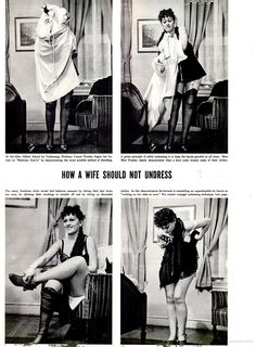 The school of how to undress?  More fun from Life in 1937