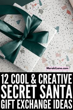 12 Cool Secret Santa Gift Exchange Ideas | If you're looking for good white elephant gift ideas for friends, for family, for coworkers, and/or specifically for women or for guys, this post has tons of great inexpensive ideas to inspire you! These budget-friendly gifts are gender neutral, practical, useful, and creative, and can be used at the office or at home. And if you're looking for cheap yet classy teacher gift ideas, these ideas will inspire you! Secret Santa Gift Exchange, Secret Santa Gifts, Best White Elephant Gifts, Different Lettering, Holiday Party Games, Creative Gifts, Gender Neutral, Teacher Gifts, Party Planning