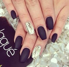 Matte nails #LaqueNailBar #LosAngeles