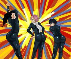 WHHHHHHYYY?! Fairy Tail's Jiggle Butt Gang. Unfortunately.