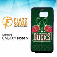 Milwaukee Bucks NBA Logo E0789 Samsung Galaxy Note 5 Case