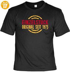 Zum Geburtstag - Einzelstück Original seit 1975 - T-Shirt - Perfekt als Geschenk! - Shirts zum geburtstag (*Partner-Link)