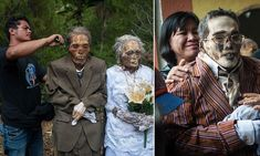 Indonesian villagers dig up dead relatives and dress them up
