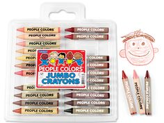 Jumbo People Colors® Crayon Pack at Lakeshore Learning Jumbo Crayons, Emotional Awareness, Easy Arts And Crafts, Kid Crafts, Lakeshore Learning, Color Crayons, Back To School Sales, Family Organizer, School Shopping