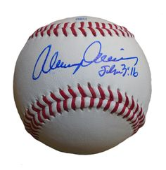 Alvin Davis Autographed Rawlings ROLB Leather Baseball, Proof Photo