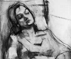 paul w ruiz - drawing Life Drawing, Figure Drawing, Painting & Drawing, Charcoal Sketch, Charcoal Art, Charcoal Drawings, Plastic Art, Found Art, Portrait Art