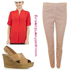 #TGIF #top #trousers #wedge #shoes www.questworld.com.ng Nationwide Delivery!  Pay on delivery in Lagos