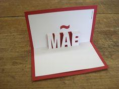 Cartão pop-up: Mãe