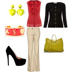 Spring Work Outfit, created by veronica-bishop