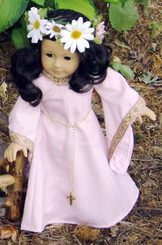 Medieval Handmaiden Gown for AG Doll by SpecialFriendsByJudy, $28.00
