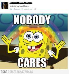 Facebook in a nutshell. LOL