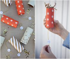 I have some fun news today! Every room in my house has at least one item from west elm in it so I was beyond excited when they asked me to host a DIY holiday workshop. Come craft some party poppers. Confetti Poppers, Diy Confetti, Party Poppers, Craft Activities For Kids, Christmas Activities, Christmas Holidays, Xmas, Christmas Ornaments, Holiday Crafts