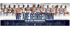 Georgetown University Basketball 2011 | Old Hat Creative