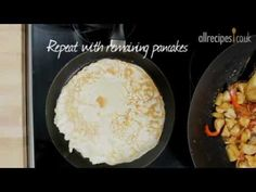 Three ways with crepes - Allrecipes.co.uk - YouTube