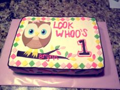 Owl 1st Birthday! - Owl First Birthday! Look Whoo's 1!!
