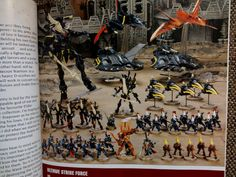 Despite their best efforts, GW is having their White Dwarf pictures leak out like a sieve. Here is our latest proof of that statement. Alas- no new jetbikes. Also, while your at it, check out this interesting article on Pins of War- media covering media is always interesting. PoW breaks down how different people have …