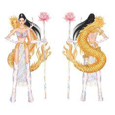 Samba Costume, Sketch Art, Ao Dai, Art Inspo, Disney Characters, Fictional Characters, Costumes, Dolls, Drawing
