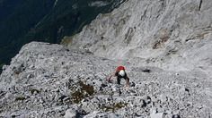 "Hohe Munde ""Grieslehnrinne"" 5-, 1500hm | bergstille.de"