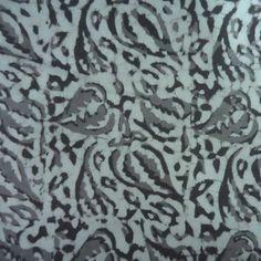 Running Fabric by Yard Hand Block Printed Bagru Grey  SKU 2133