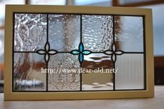 Stained Glass Panels, Stained Glass Patterns, Leaded Glass, Transom Windows, Rustic Room, Window Design, Pebble Art, Glass Art, Miniatures