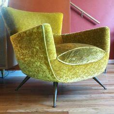 Interior design | decoration | home decor | furniture | Mcm 1950s Lounge Chair Eames Knoll Miller Karpen Zanuso Mid Century NR!!!! | eBay
