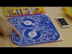 DJ QBert's Album Artwork Doubles as a DJ Controller. Back in legendary turntablist DJ QBert launched a Kickstarter campaign to fund his new album, Extraterrestria. While many crowdsourcing campaign Artwork Dj, Machine A Graver, Application Iphone, Dj Decks, Vinyl Sleeves, Pochette Album, Vinyl Cover, Music Mix, Rap Music