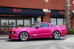 Molly Pop Pink Saleen....I wanna wake up and have you in my garage....