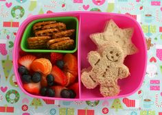 Bento Box Lunches for Kids // Lots of fun, cute ideas that aren't TOO over the top (minus having all those cookie cutters and presses on hand, sheesh!)