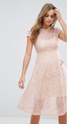 ASOS Cotton Candy LA Midi Dress
