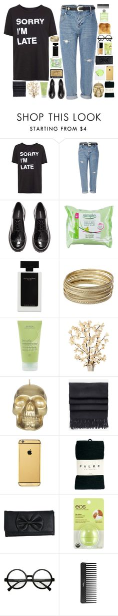 """""""☾ last day for the tesla challenge!!! c:"""" by thundxrstorms ❤ liked on Polyvore featuring Topshop, River Island, H&M, NARS Cosmetics, Narciso Rodriguez, Steve Madden, Aveda, Icon Jewellery, Acne Studios and Goldgenie"""