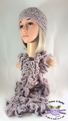 Crochet Woman Ruffle