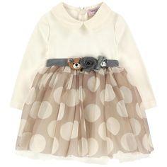 Monnalisa - Bi-material dress - 186745