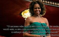 20 Frases de mulheres que atingiram o sucesso Michelle Obama, New Years Eve Party, Proverbs, Leadership, Improve Yourself, Acting, Thoughts, Feelings, Quotes
