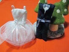 Θαλασσόξυλα και  άλλα: Μπομπονιέρες φορεματάκια