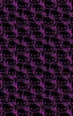 imagen descubierto por Melissa 방 사랑~.) tus propias imágenes y videos en We Heart It Goth Wallpaper, Trippy Wallpaper, Iphone Background Wallpaper, Aesthetic Iphone Wallpaper, Aesthetic Wallpapers, Emoji Wallpaper, Hello Kitty Backgrounds, Hello Kitty Wallpaper, Photo Wall Collage