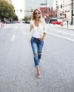 e911cc20f57cb2 Caroline Cream Suede Jacket Skinny Jeans, Collars, Long Sleeve, Blazers For  Women,