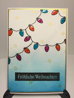 Weihnachtskarte Christmas Card #Lawn_fawn #StempelSissi #Sissi_s_kreatives_Kämmerlein